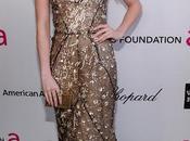 look para Emma Roberts after party Elton John Oscars 2013