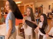 familia Rapunzel, cabelleras llegan medir casi metros