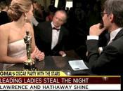increíble momento cuando Jennifer Lawrence conoció Jack Nicholson