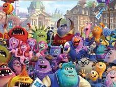 Nuevo cartel película Disney Pixar Monstruos University