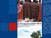 LIBRO: Derecho Consulta Previa Pueblos Indígenas América Latina