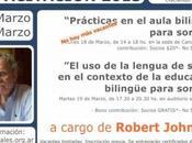 Charla lengua señas contexto educación bilingüe para sordos'