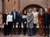 princesas europeas, vestidas, reunen Holanda