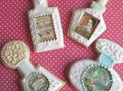 Galletas decoradas papel fondant-perfumes