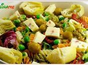 Ensaladas Originales Exquisita ensalada pasta, alcachofas wasabi Recetas Sanas