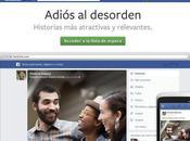 Facebook presentó nueva feed noticias varias mejoras importantes