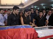 Oscarcito Jesús Miranda (CHINO) también visitaron féretro Hugo Chávez
