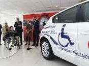 Palencia cuenta vehículo autoescuelas adaptado para personas movilidad reducida