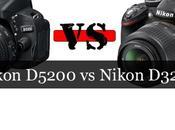 Comparación: Nikon D5200 D3200