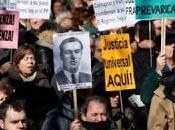 Argentina, piden detención franquistas