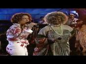 Gloria Estefan Celia Cruz gotas agua bendita.