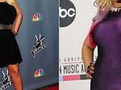 Christina Aguilera baja peso luce nuevas curvas