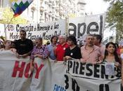 Declaraciones Jorge Altamira durante marcha marzo Buenos Aires