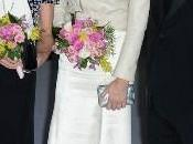 Charlene Mónaco, vestido noche cazadora motera Ralph Lauren, Baile Rosa