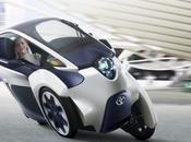 Toyota presenta prototipo eléctrico I-ROAD