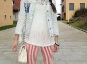 Stripes Orange White