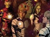 Portada alternativa Paolo Rivera para Guardians Galaxy