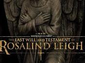 You're Next last will testament Rosalind Leigh, avances prometedores