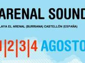Arenal Sound 2013: Distribución Días