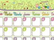 Descargables: Calendarios Abril 2013
