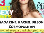 MAGAZINE: Rachel Bilson para Cosmopolitan Mayo!