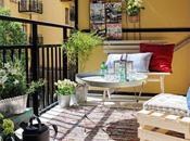 Deco Inspiration: piso pequeño terraza para verano