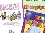 Presentación libros Wonwings Bichos fronteras Pomares