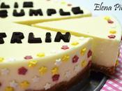 Tarta Cuajada Galletas cumpleaños Merlín (Thermomix)