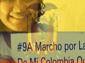 Colombiana Exilio habla Marcha