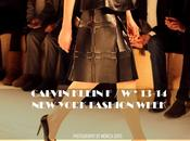 Runway: calvin klein fall winter -14. york fashion week