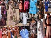 Modas aquí, allá, todas partes: Africa