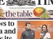 "Sara Carbonero Iker Casillas portada ""The Times"""