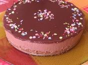 Pastel mousse nutella