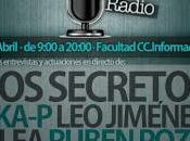 Secretos, Ska-P, Rubén Pozo, Garaje Jack, Jiménez Facultad Periodismo Complutense