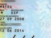 pasaporte para bebés
