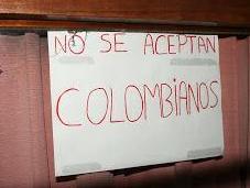 """aceptan Colombianos"""""""