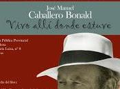 Internacional Libro premio Cervantes Caballero Bonald protagonista