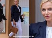 Charlene Mónaco, lección estilo Open Montecarlo