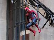 Fotos detrás cámaras Amazing Spiderman