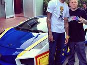 Chris Brown convirtió Lamborghini Wheels