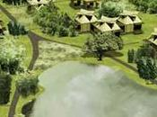Casas bambú flotantes Vietnam