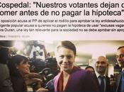 Salvador López Arnal. Doña María Dolores Cospedal ciudadanos votantes