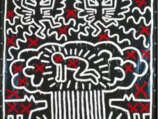 Keith Haring mirada política sobre obra