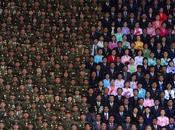 vida civil militarizada Corea Norte