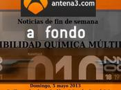 SENSIBILIDAD QUÍMICA MÚLTIPLE TELEDIARIO ANTENA este domingo mayo Fernández-Solà (Hospital Clínic) María José Moya Estrella Mar)