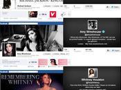 Legados redes sociales Michael Jackson, Winehouse,..