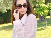 Look day: Soft Pink Plaid Skirt