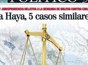 DEMANDA MARÍTIMA: Cinco experiencias similares Bolivia plantea Haya