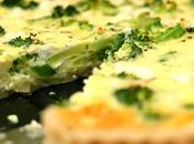 Receta: Tarta salada jamón brécol