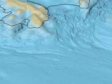 Nuevo mapa batimétrico todo fondo marino antártico